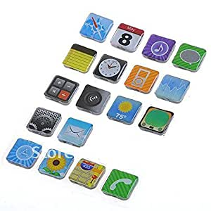Phone App Fridge Magnets