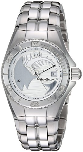 Technomarine Women's 'Cruise' Quartz Stainless Steel Casual Watch, Color:Silver-Toned (Model: TM-115199)