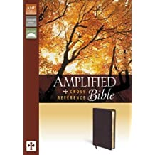 Amplified Cross-Reference Bible, Bonded Leather, Burgundy