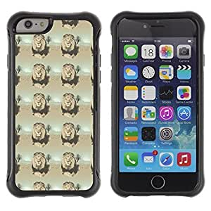 Andre-case FlareStar Colour Printing dark lion Heavy Duty Armor ffzkprmHBaC Shockproof Silicone Cover Rugged case cover for Apple iPhone 4s
