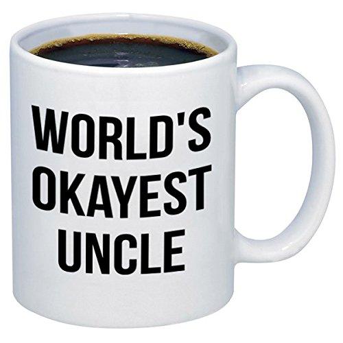 P&B World's Okayest UNCLE Ceramic Coffee Mugs M325 (11oz.)