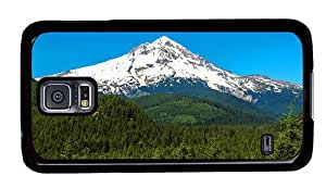 Hipster Samsung Galaxy S5 Case personalize mount hood oregon PC Black for Samsung S5