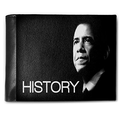 Obama Jewelry - Wallet Barack Obama President Men's Bifold ID Case - Neonblond