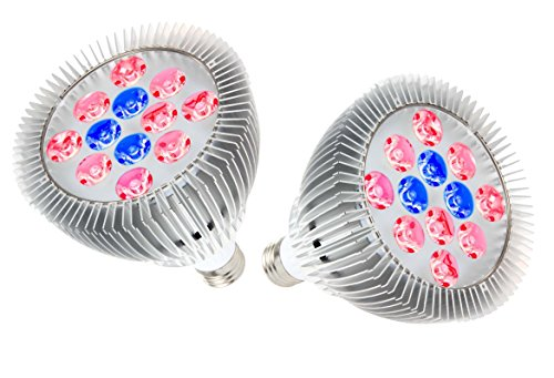 OxyLED LED Grow Bulbs, Hydroponic Plant Grow Lights for G...
