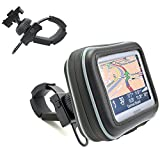 """ChargerCity Water Resistant XL Bike Motorcycle Bar Mount for 4.3 5"""" Screen Garmin Drive Smart Nuvi 42 50 55 52 55 56 57 57LM 58 2557 2597 2598 LM LMT"""