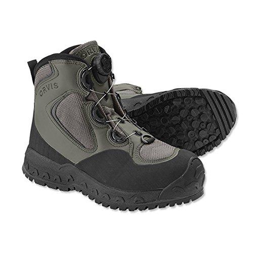 (Orvis Boa Pivot Wading Boot - Rubber, 13)