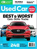 Consumer Reports Used Car Buying Guide Magazine March 2019