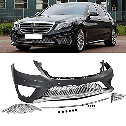 Amazon com: W222 S63 AMG Style Front End Fascia Kit Mercedes S Class