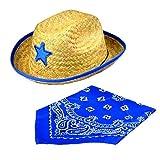 JOYIN Toy Pack of 12 Childs Straw Cowboy Hats