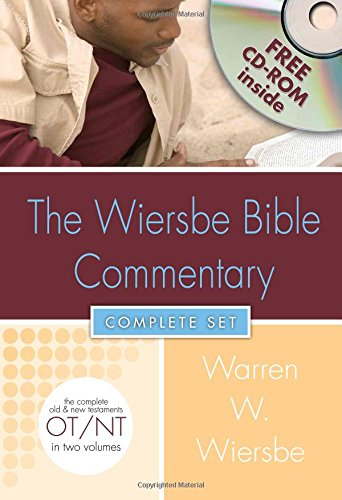 Wiersbe Bible Commentary 2 Vol Set w/CD Rom (Wiersbe Bible Commentaries)
