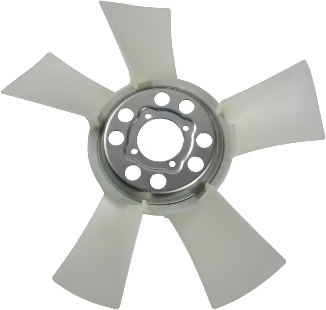 A-Premium Engine Radiator Cooling Fan Blade for Dodge Ram 1500 2009-2010 Ram 1500 2011-2013 V8 4.7L 55056861AA