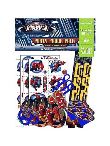 Spiderman Party Favor Value Pack
