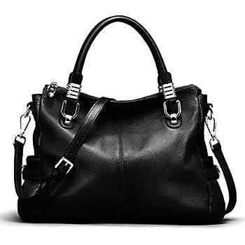 amazon com s zone women s vintage genuine leather tote shoulder bag rh amazon com