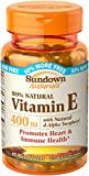 Sundown Vitamin E Natural Softgels, 400 IU, 100-Count Bottles (Pack of 3) Review