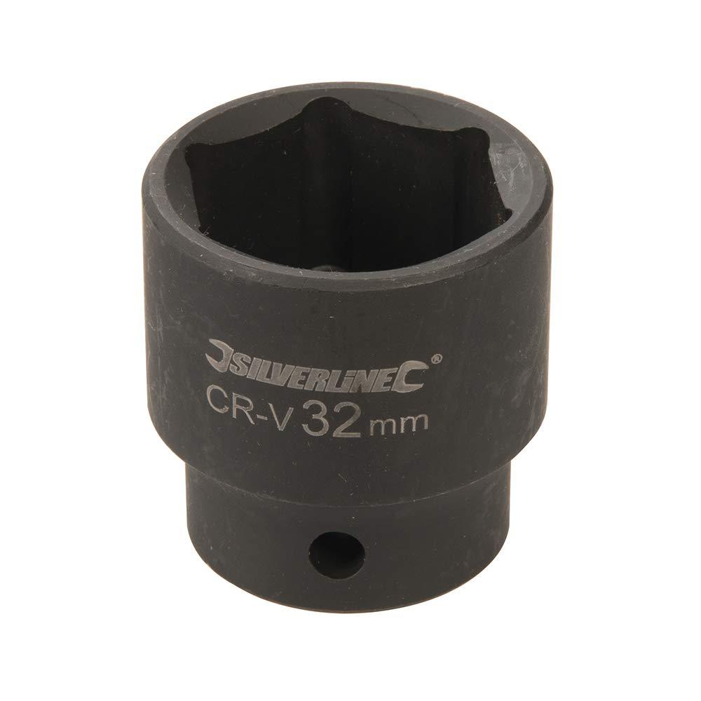 Silverline Tools Silverline 826021 Impact Socket 1//2 Drive 6pt Metric