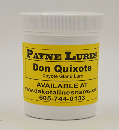 1 - 4 oz. Payne DON QUIXOTE Coyote Gland Lure by DakotaLine (Image #1)