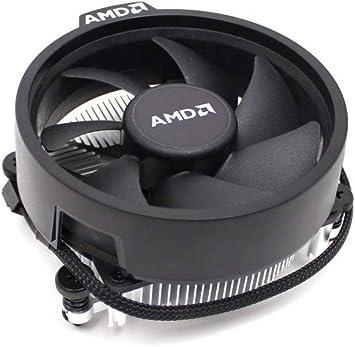 AMD Wraith Stealth - Ventilador para CPU (Aluminio, 65 W, para ...
