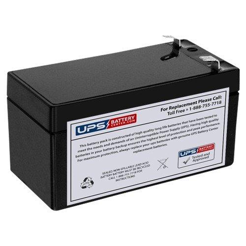 Casil CA1212 12V 1.2Ah F1 Compatible Sealed Lead Acid Battery Replacement by UPSBatteryCenter® UPS Battery Center 12V1.2Ah-SLA-01-11718