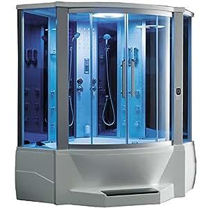 Ariel WS-701 Steam Shower with Whirlpool Bathtub