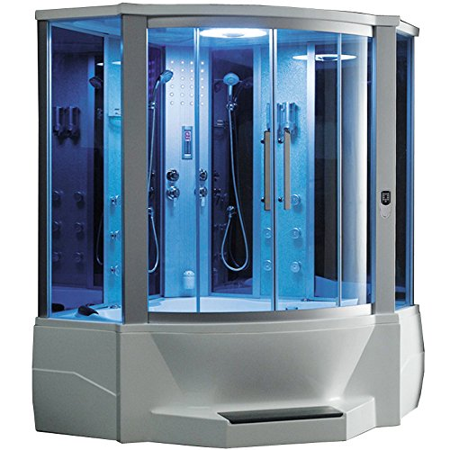 hower with Whirlpool Bathtub (Glass Steam Shower)
