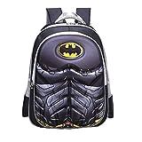 School Backpack for Boys Kids Schoolbag Student Bookbag Rucksack Waterproof Shoulder Bag Daypack with Anime Super Hero (A05, Large:42x32x14 cm)