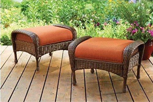 Better Homes And Gardens Azalea Ridge Ottomans Chair Set Of 2 And 1 Long Azalea Ridge Storage
