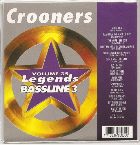 Standards Karaoke Cd - LEGENDS Bassline Vol.35 Karaoke CDG MALE STANDARDS CROONERS