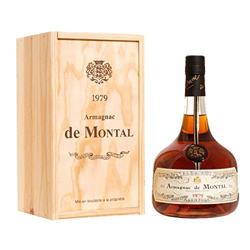 アルマニャックドモンタル 700ml 2000年 (平成12年) armagnac de montal 箱入りヴィンテージ ブランデー B07GRKDJWX