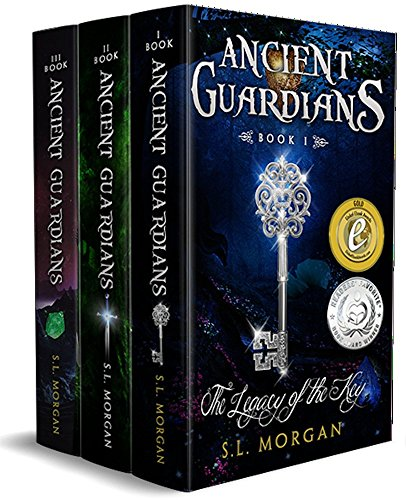 Ancient Guardians Novel Series Box Set Books 1-3 (The Legacy of the Key, The Uninvited, The Awakening)