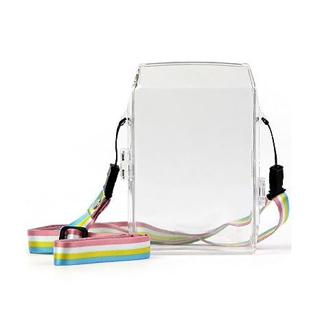 jxe transparente PVC Caso para Fujifilm Instax Compartir ...