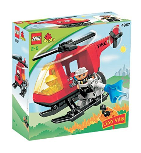 LEGO Duplo 4967 Ville Fire Helicopter (B000BVKS82) | Amazon
