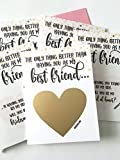 Will You Be My Bridesmaid, Maid of Honor Scratch Off Card - Set of 6