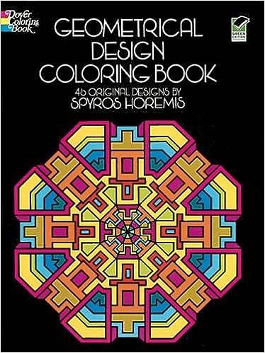 Geometrical Design Coloring Book Dover Books Spyros Horemis 9780486201801 Amazon