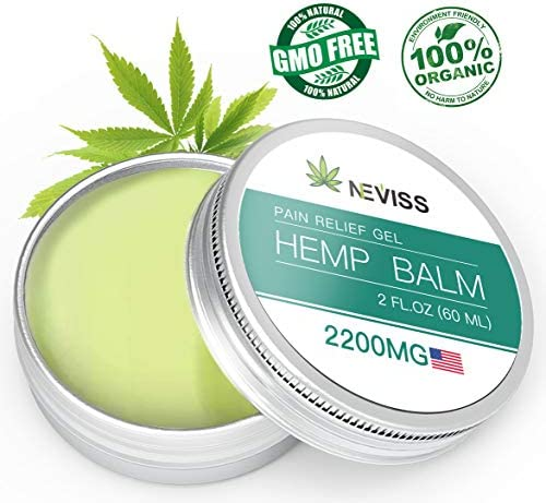 Organic Relief 2200mg Natural Cream