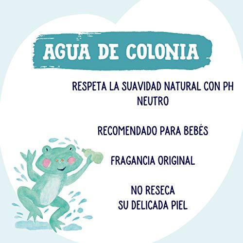 Nenuco Agua De Colonia Recomendado Para Bebes Fragancia Original Paquete De 6 Unidades X 600 Ml