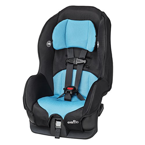 Evenflo Tribute LX Convertible Car Seat - Neptune (Best Car Seat For Infant Through Toddler)