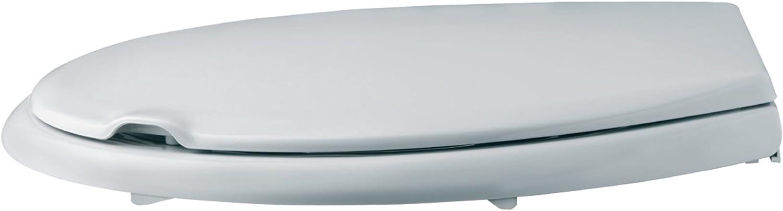 de resina a prueba de roturas color blanco negrari 102/Pinguino Tapa de WC