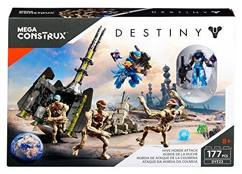 [해외]메가 Construx 운명 하이브 호드 공격 건물 세트/Mega Construx Destiny Hive Horde Attack Building Set