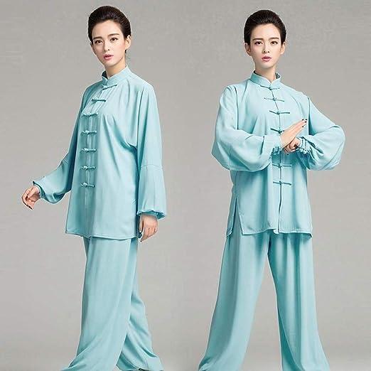 FLY FLU Taichi Uniforme Mujer,Ropa Tai Chi Ropa Uniforme Tai Chi ...