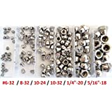 ☆ (145pcs) ◘ CAP NUT (Acorn) ◘ Stainless Steel ◘ IMPERIAL Kit ☆