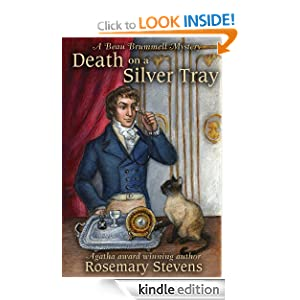 Death on a Silver Tray (Beau Brummell Mysteries) Rosemary Stevens