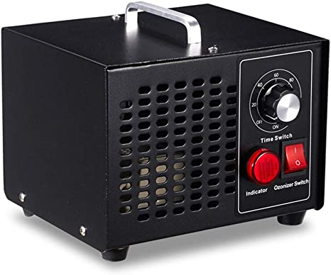 MZBZYU Generador de ozono Comercial 3,500mg / h purificador de Aire 50W Dispositivo de ozono ozonizador con Temporizador para automóviles de habitación Mascotas Humo ...
