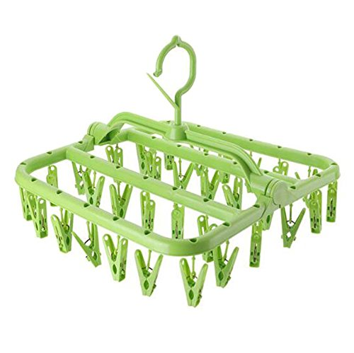 DRAGON SONIC Multifunction Multi Clip Clothes Stand Drying R