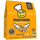 Nut Free Gluten Free Granola Bars, FreeYumm Chocolate Chip Oat Bars, School Safe Allergen Free Snacks for Kids, 15 Total Bars