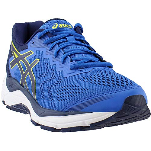ASICS Mens Gel-Fortitude 8 Running Shoe, Victoria Blue/Indigo Blue/Sulphur Spring, Size 10.5 (Best Asics Cushioned Running Shoes)
