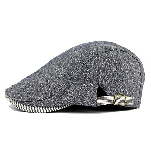 sombrero sombreros fina blue beret azul Algodón marino Beret Navidad gorra MASTER beanie adelante hat Navy mujer Halloween hombre visera qfxEwgOC