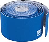 StrengthTape Kinesiology Tape, Royal Blue, 5 Meter Uncut Roll, Breathable Stretch Cotton Athletic Tape Supports Painful Sports Injuries During Recovery - Even in Water