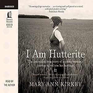 I Am Hutterite Audiobook