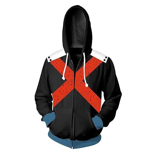 355634d03 ZIFUNMUR Boku No Hero Academia My Hero Academia Izuku Midoriya Jacket  Sweatshirt Cosplay Costume Hoodies