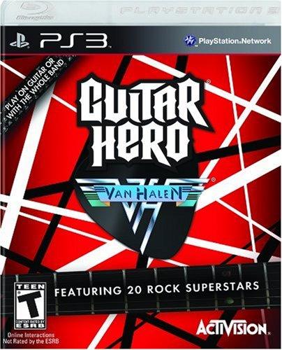 - Guitar Hero Van Halen - Playstation 3 (Game only)